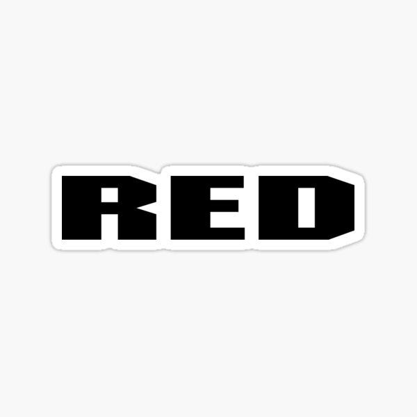 RED Camera Sticker