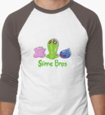 Slime Bros Men's Baseball ¾ T-Shirt