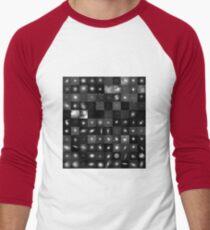 Messier Image Map Men's Baseball ¾ T-Shirt