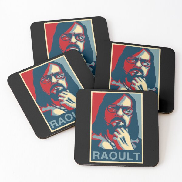 didier raoult Coasters (Set of 4)