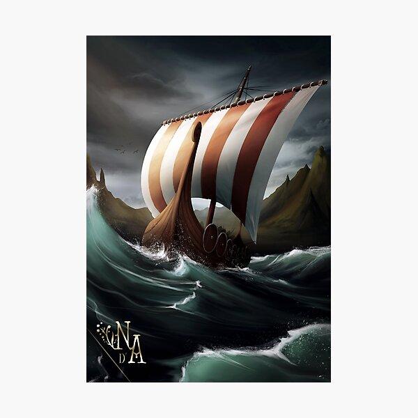 Sagas des Mers Grises : le Sabot de Sleipnir Impression photo
