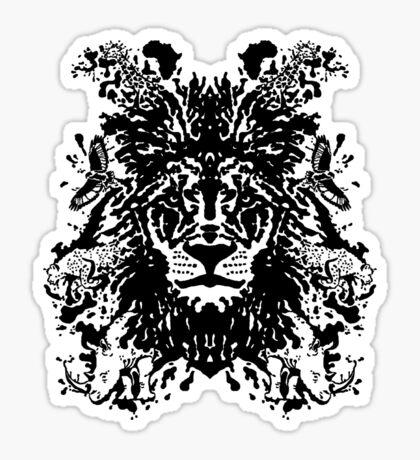 African Ink Sticker