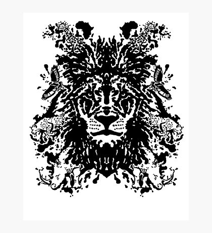 African Ink Photographic Print