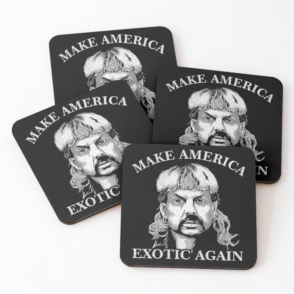 joe exotic make america exotic again Coasters (Set of 4)