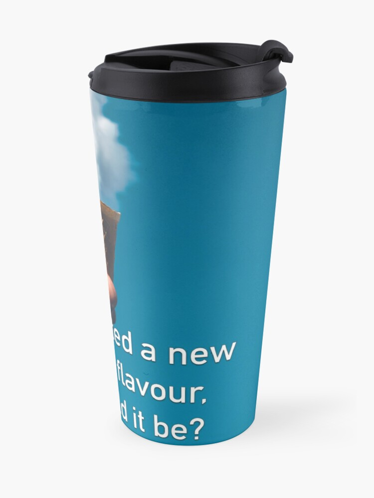 Alternate view of If You Invented A New Ice Cream Flavour Travel Mug