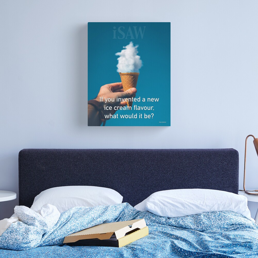 If You Invented A New Ice Cream Flavour Canvas Print