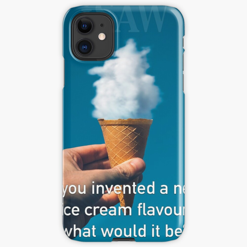If You Invented A New Ice Cream Flavour iPhone Case & Cover