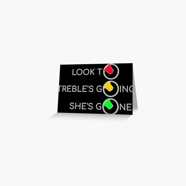 Bell Ringing - LOOK TO TRAFFIC LIGHTS A Greeting Card