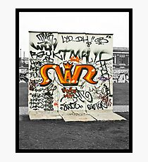 The Berlin Wall Photographic Print