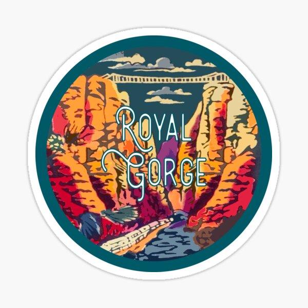 Royal Gorge Vintage Decal Sticker