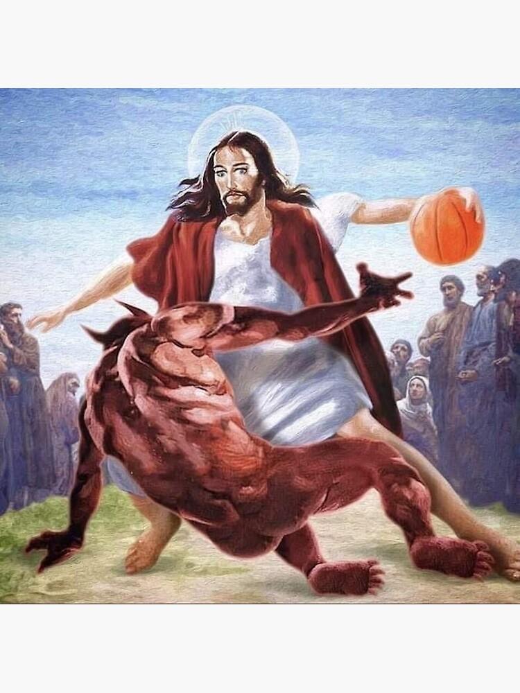 Jesus vs Satan in Basketball by Nathan31