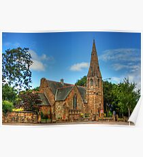 St. Ninian's Craigmailen Parish Church Poster