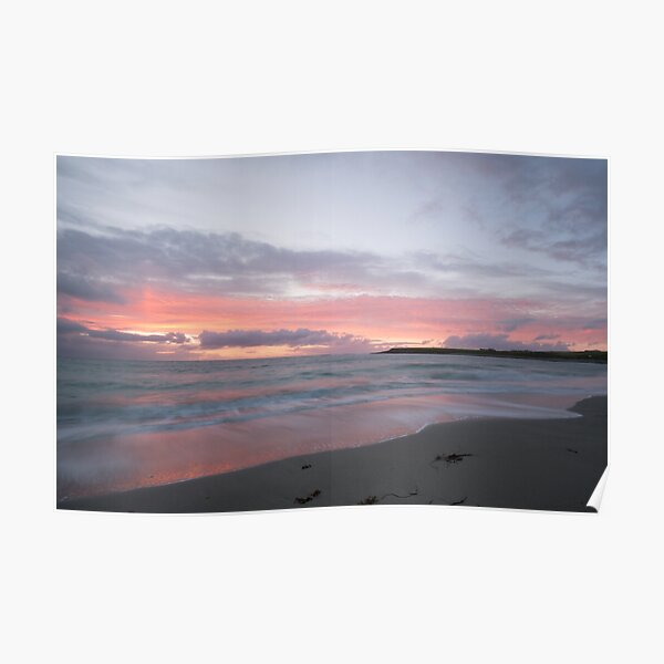 Bay of Skaill sunset Poster