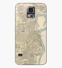 Vintage Map of Omaha Nebraska (1901) Case/Skin for Samsung Galaxy