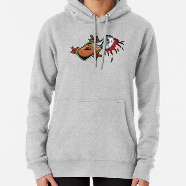 Full Colour Molotov Cocktail  Pullover Hoodie