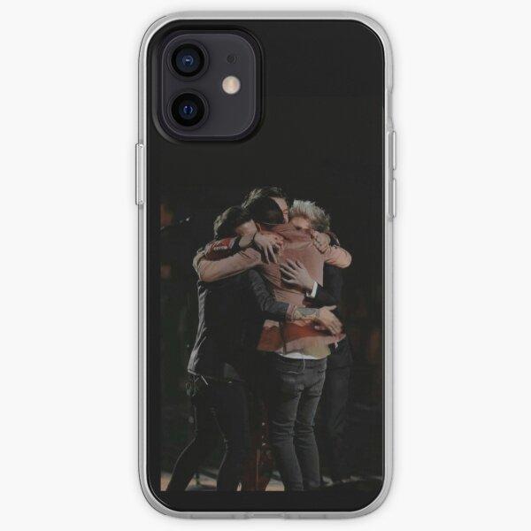 One Direction Hugging Funda blanda para iPhone