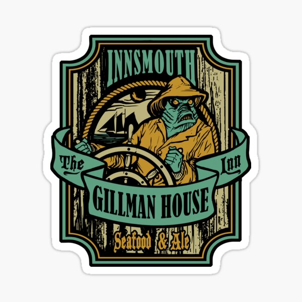 Gillman House Sticker
