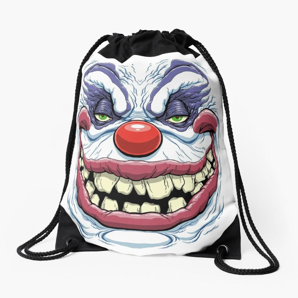 KILLER KLOWN RUDY Drawstring Bag