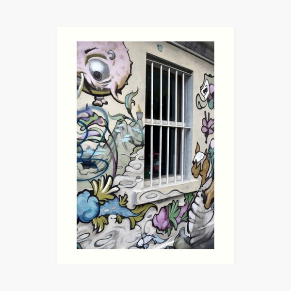 Window with a view Art Print