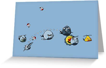 RCAF Birds by redpumpkinart