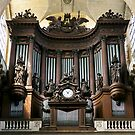Pipe organ in St Sulpice, Paris by Jenny Setchell