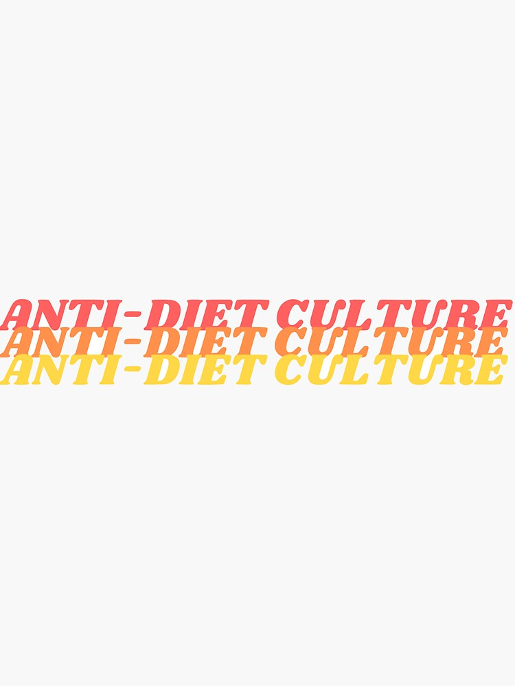 anti diet culture by karayoung