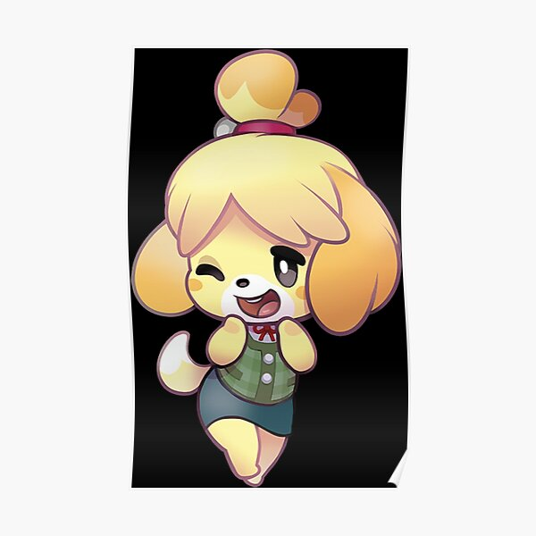 Isabelle animal crossing Poster