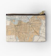 Vintage Map of Ottawa Canada (1915) Studio Pouch