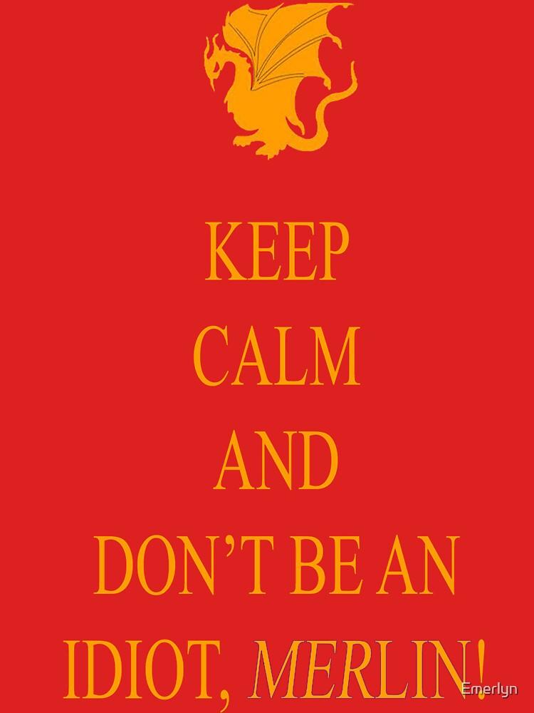Don't be an Idiot, Merlin tee | Unisex T-Shirt