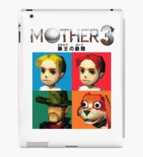 MOTHER 3 / EarthBound 64 Tiles (MOTHER 3 Logo) iPad Case/Skin
