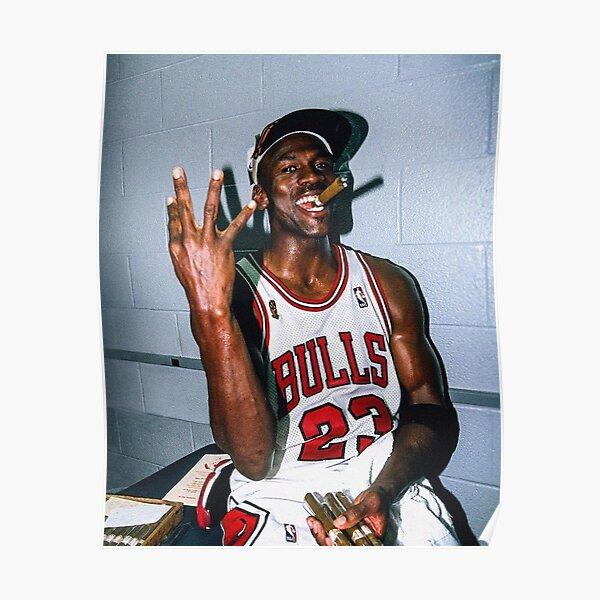 Vintage Michael Jordan Threepeat Poster