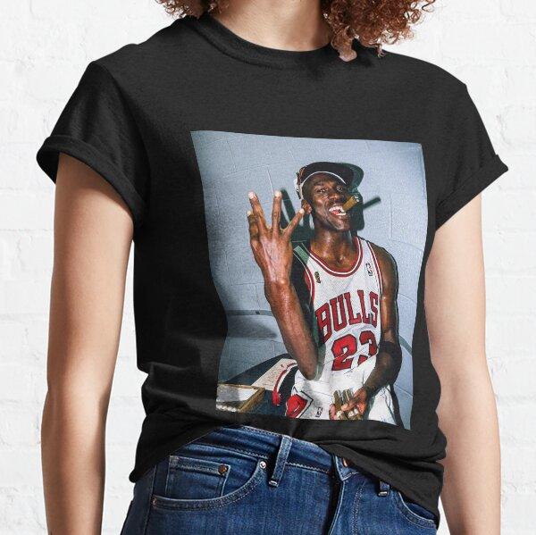 Vintage Michael Jordan Threepeat Classic T-Shirt