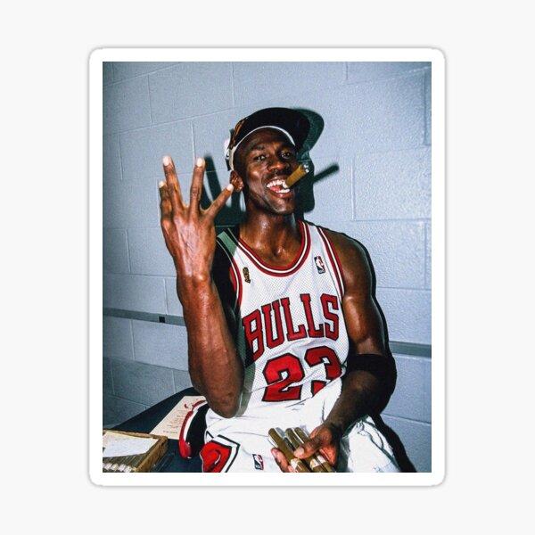 Vintage Michael Jordan Threepeat Sticker