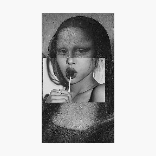 Mona Lisa aesthetic Photographic Print