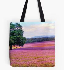 A Field of Lavender Tote Bag