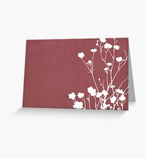 Buttercups in Pink & White Greeting Card