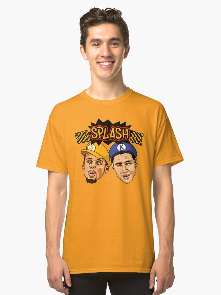 Super Splash Bros Classic T-Shirt Front