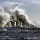 Crashing Waves by Barry Goble