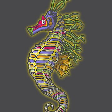 Crayon Pony Fish by tioem