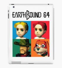 MOTHER 3 / EarthBound 64 Tiles (EarthBound 64 Logo) iPad Case/Skin