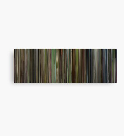 Moviebarcode: Son of Rambow (2007) Canvas Print