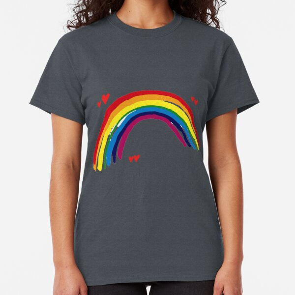 Thank You Rainbow design - all proceeds to charity. Classic T-Shirt