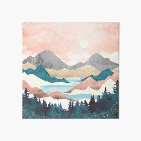 Lake Sunrise Art Board Print