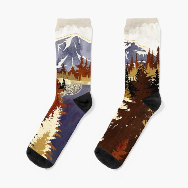 Autumn River Socks