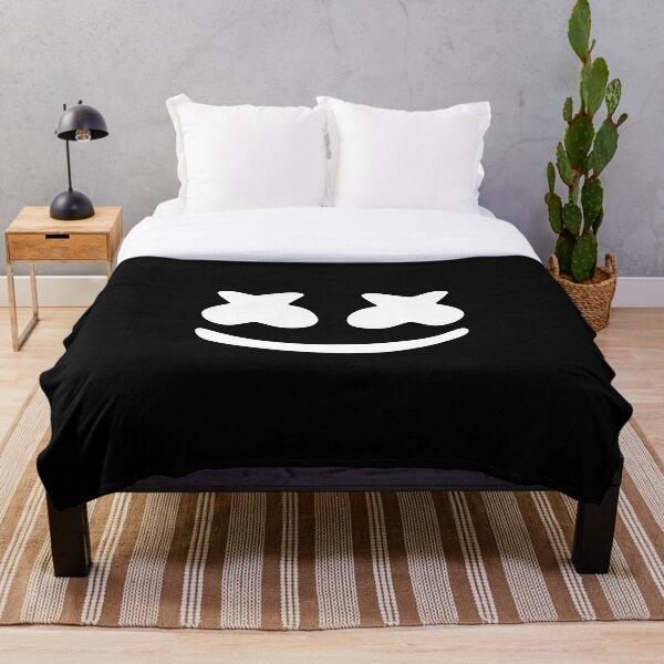 Marshmello 3D Throw Blanket Plush Sofa Bed Marshmallo Blanket Thanksgiving Gift