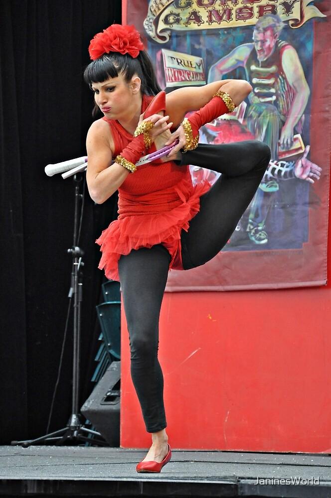 Flexibility Plus! by JaninesWorld