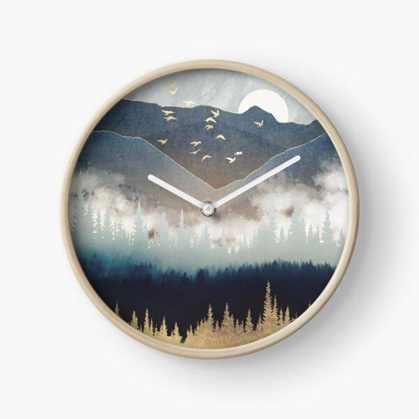Blue Mountain Mist Clock