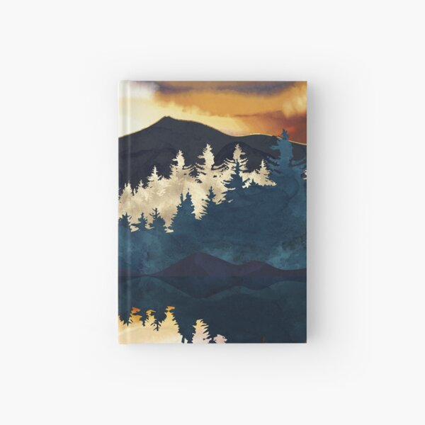 Fall Sunset Hardcover Journal