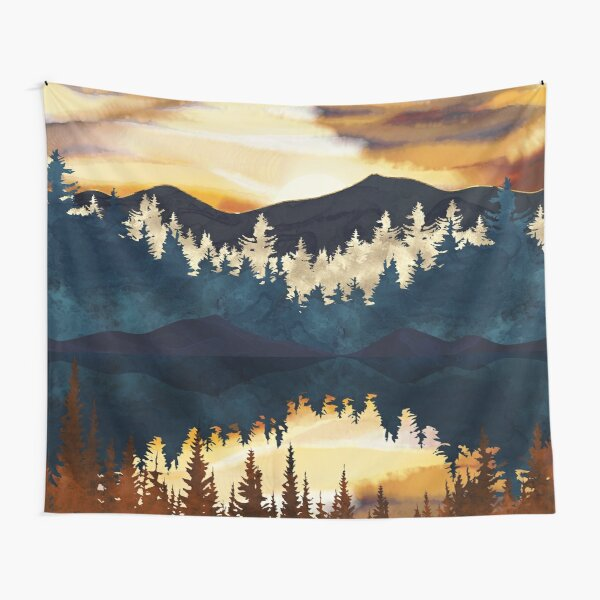 Fall Sunset Tapestry