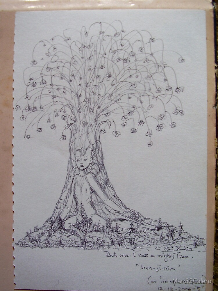 But once I was a mighty Tree by MardiGCalero